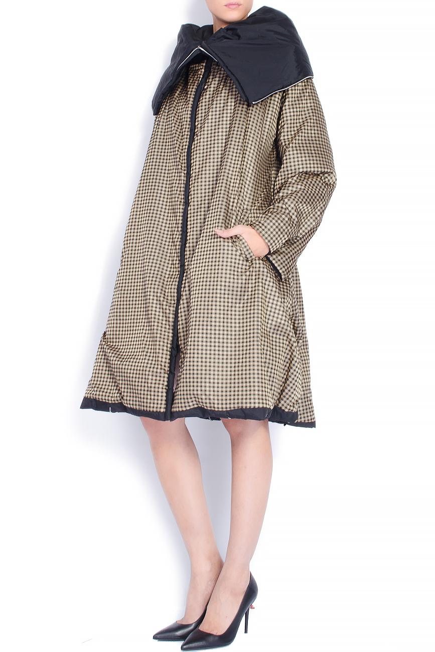Manteau reversible à zip décoratif  Edita Lupea image 2
