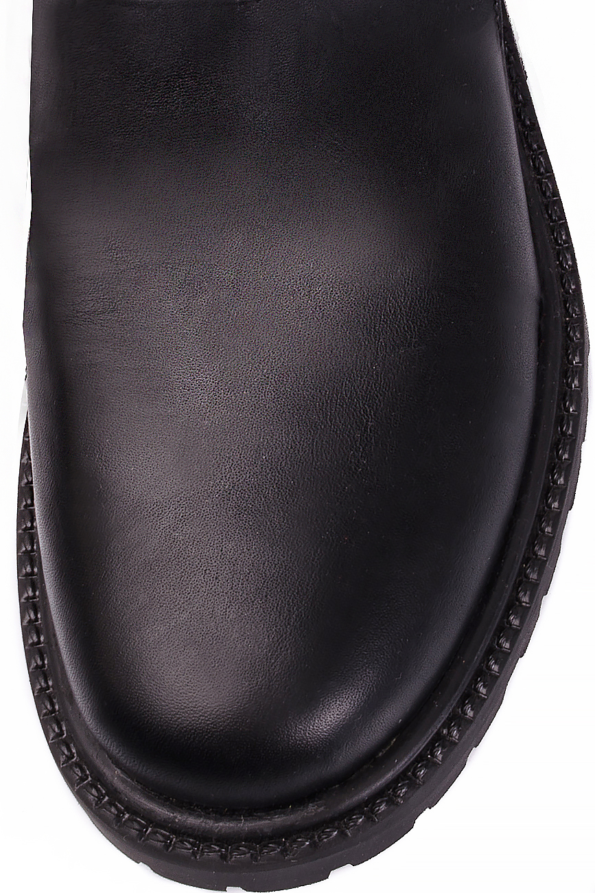 Distressed leather boots Mihaela Glavan  image 3