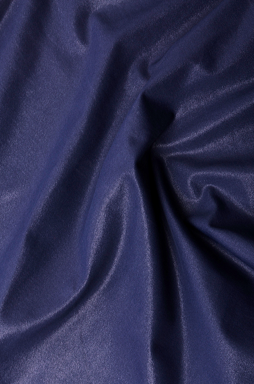 Lycra Turtleneck Top Blouses Tunics Tops Made To Measure Simona Blue Semen Image 3