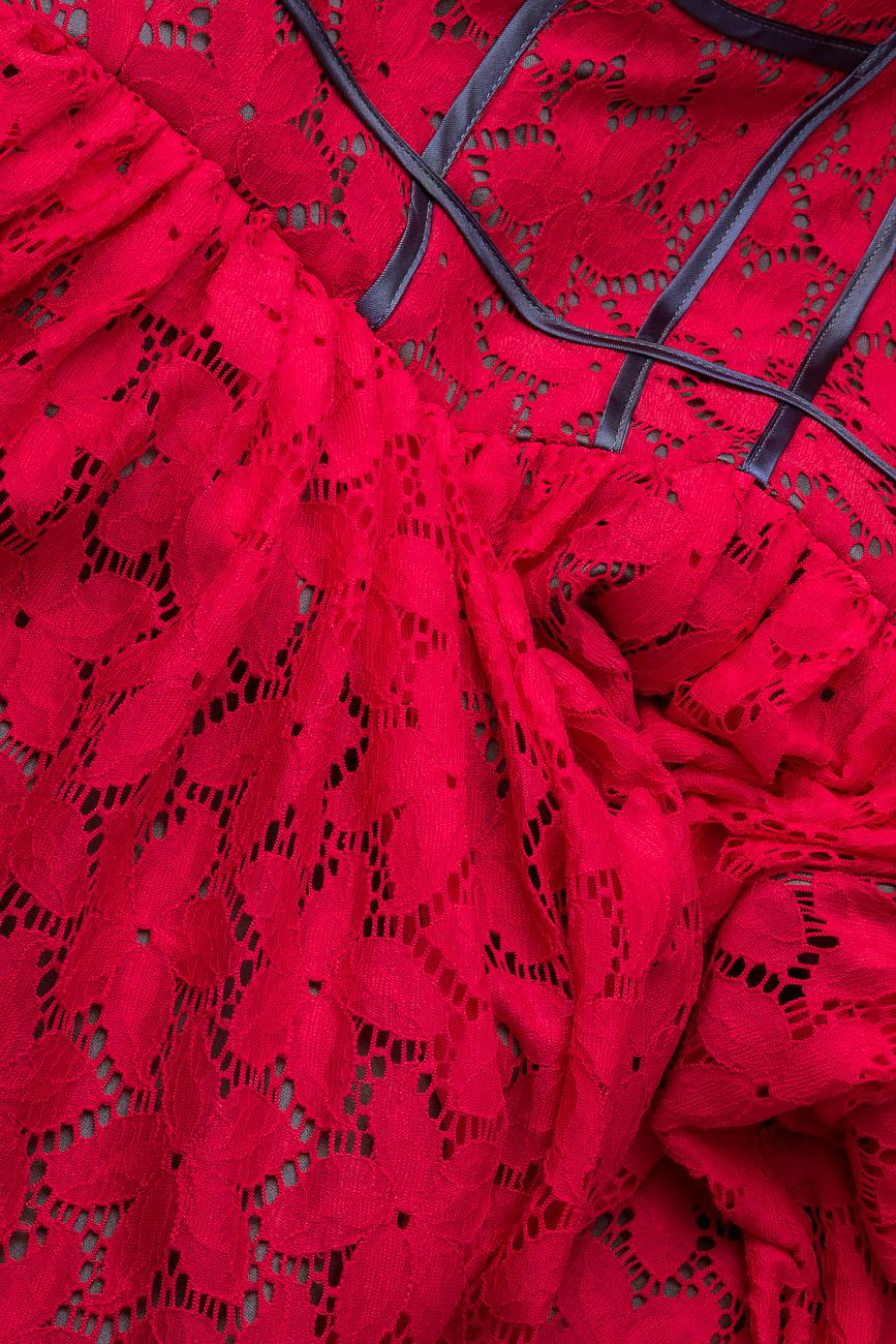 Rochie din dantela elastica  Arina Varga imagine 3