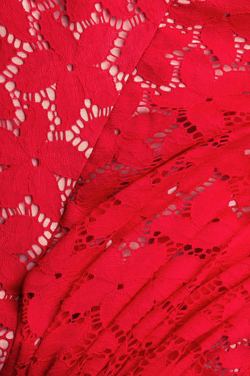 Rochie de seara din dantela elastica  Arina Varga imagine 3