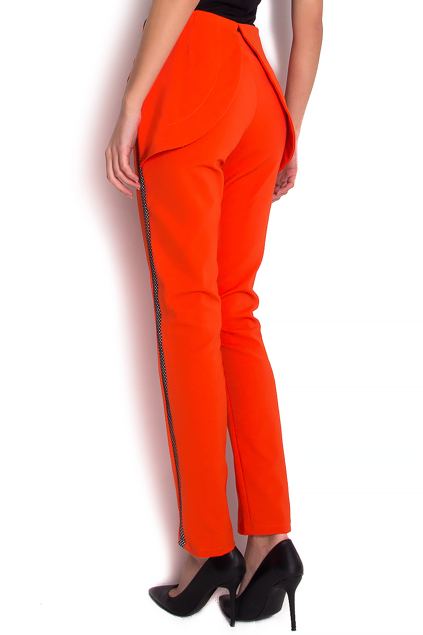 Stretch-jersey trimmed straight-leg pants Florentina Giol image 2