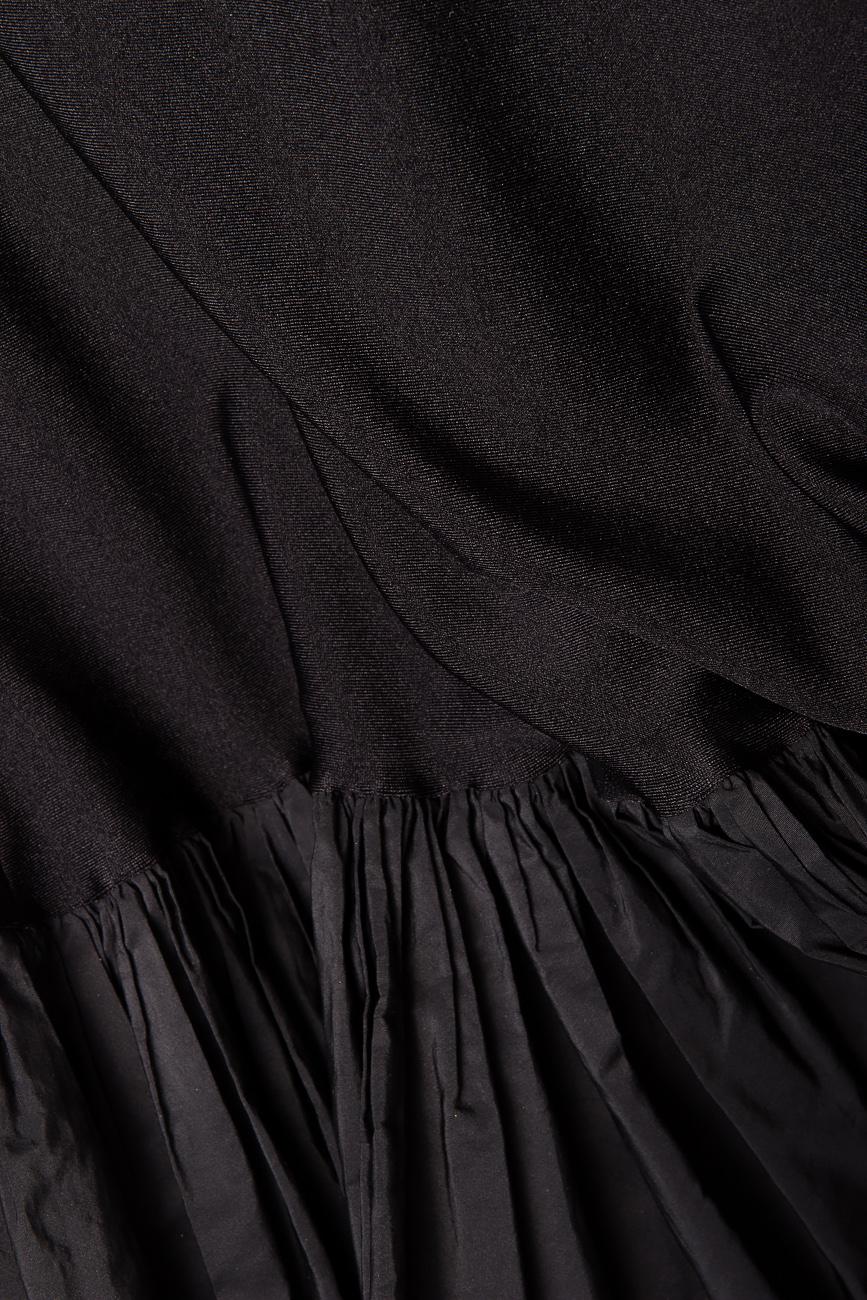 Rochie din tafta elastica  Cloche imagine 3