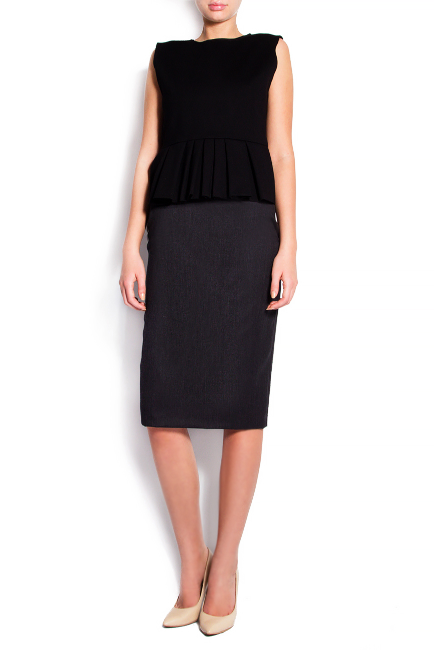 Stretch-wool pencil skirt Grigori Ciliani image 0