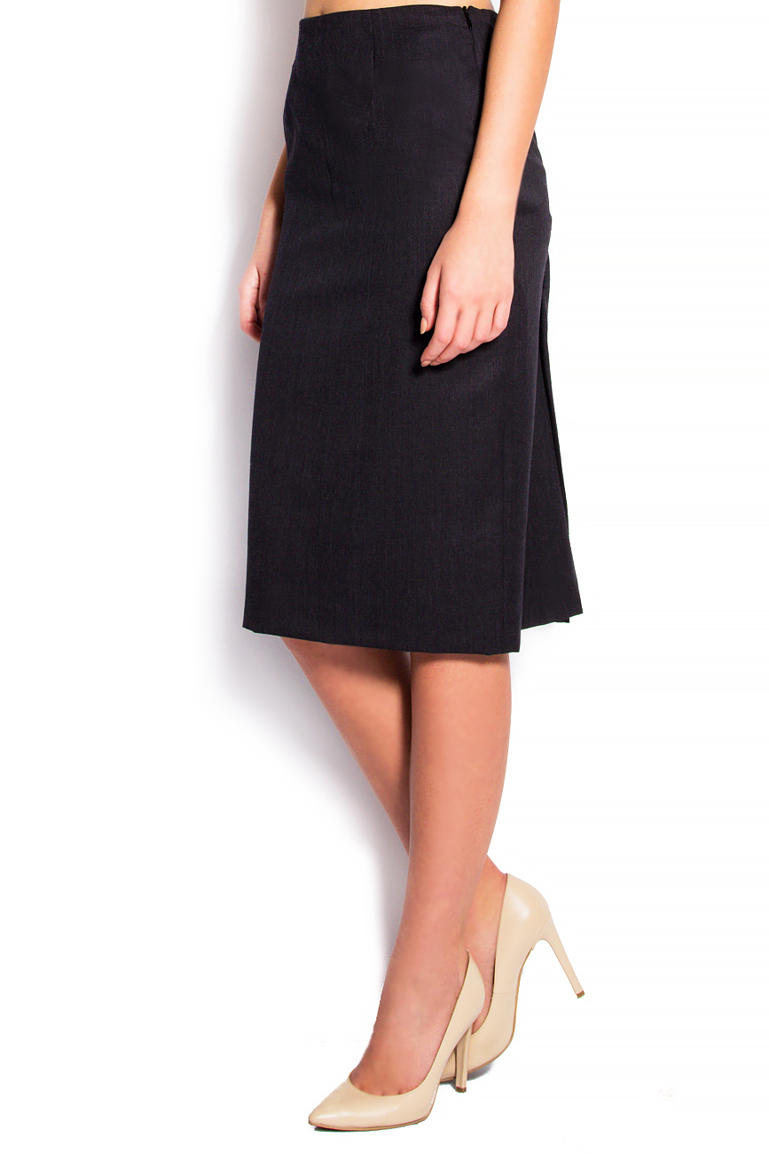 Stretch-wool pencil skirt Grigori Ciliani image 1