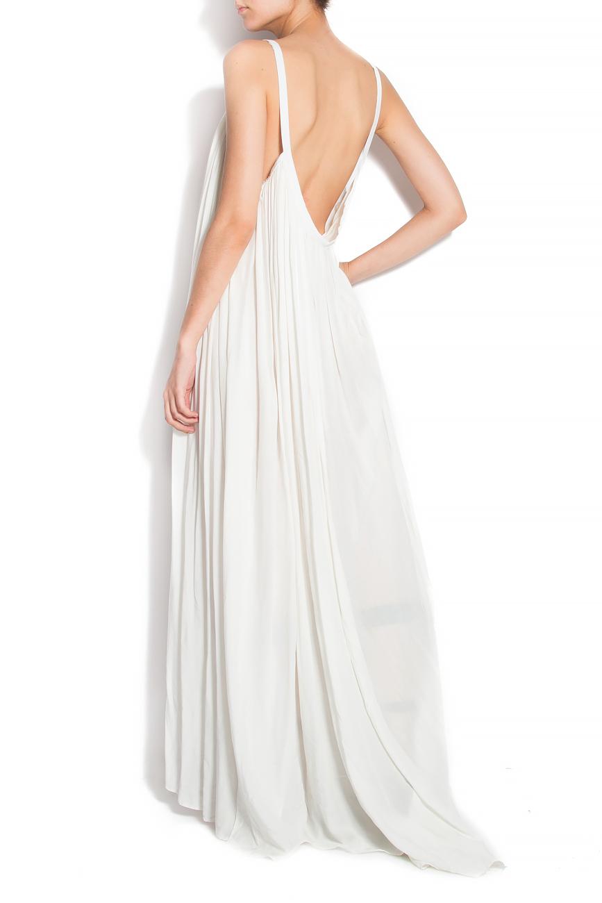 robe de plage en coton blanc robes longues robes sur mesure. Black Bedroom Furniture Sets. Home Design Ideas