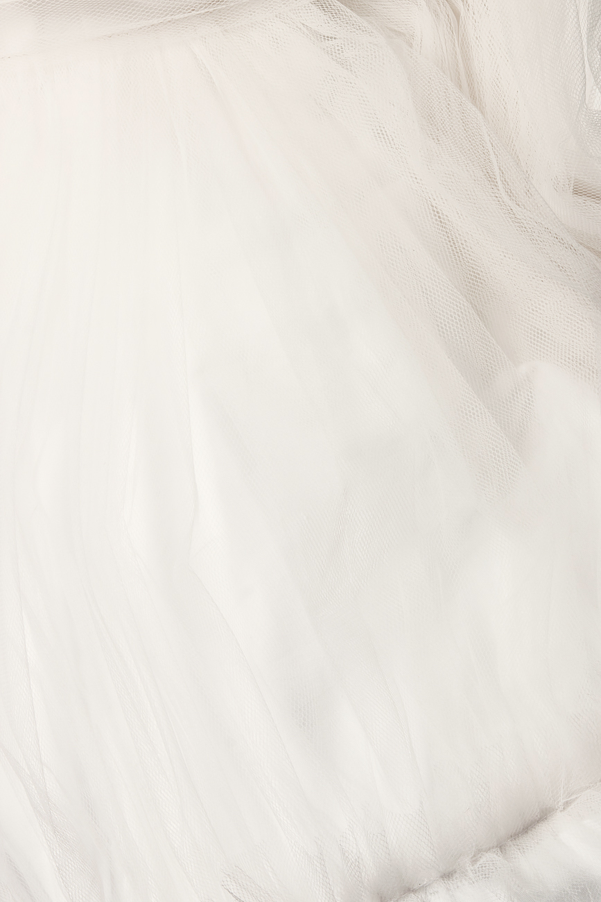 Rochie midi din tul cu croiala tip clos Arina Varga imagine 3