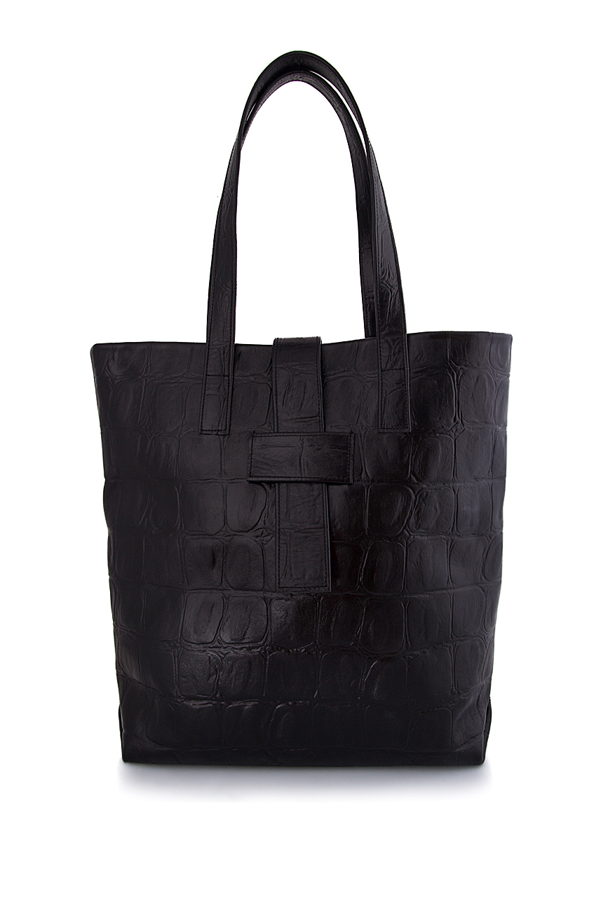 Leather tote Laura Olaru image 0