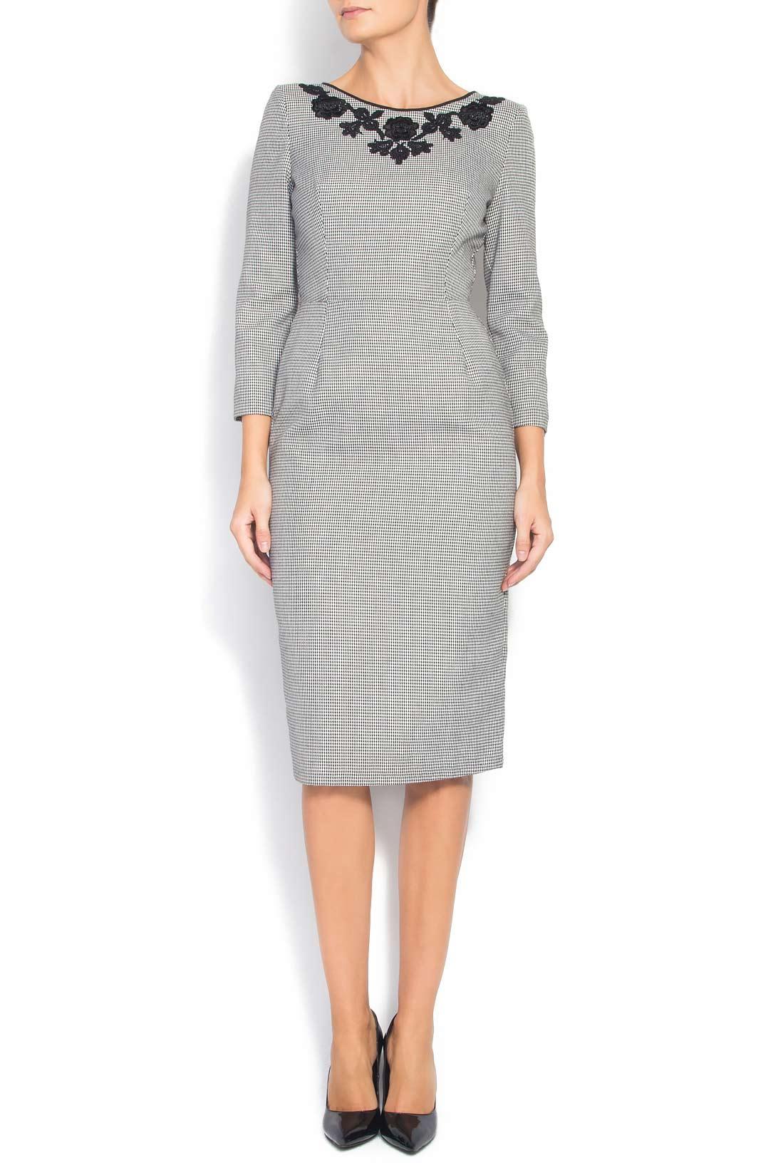 Houndstooth dress Cristina Staicu image 0