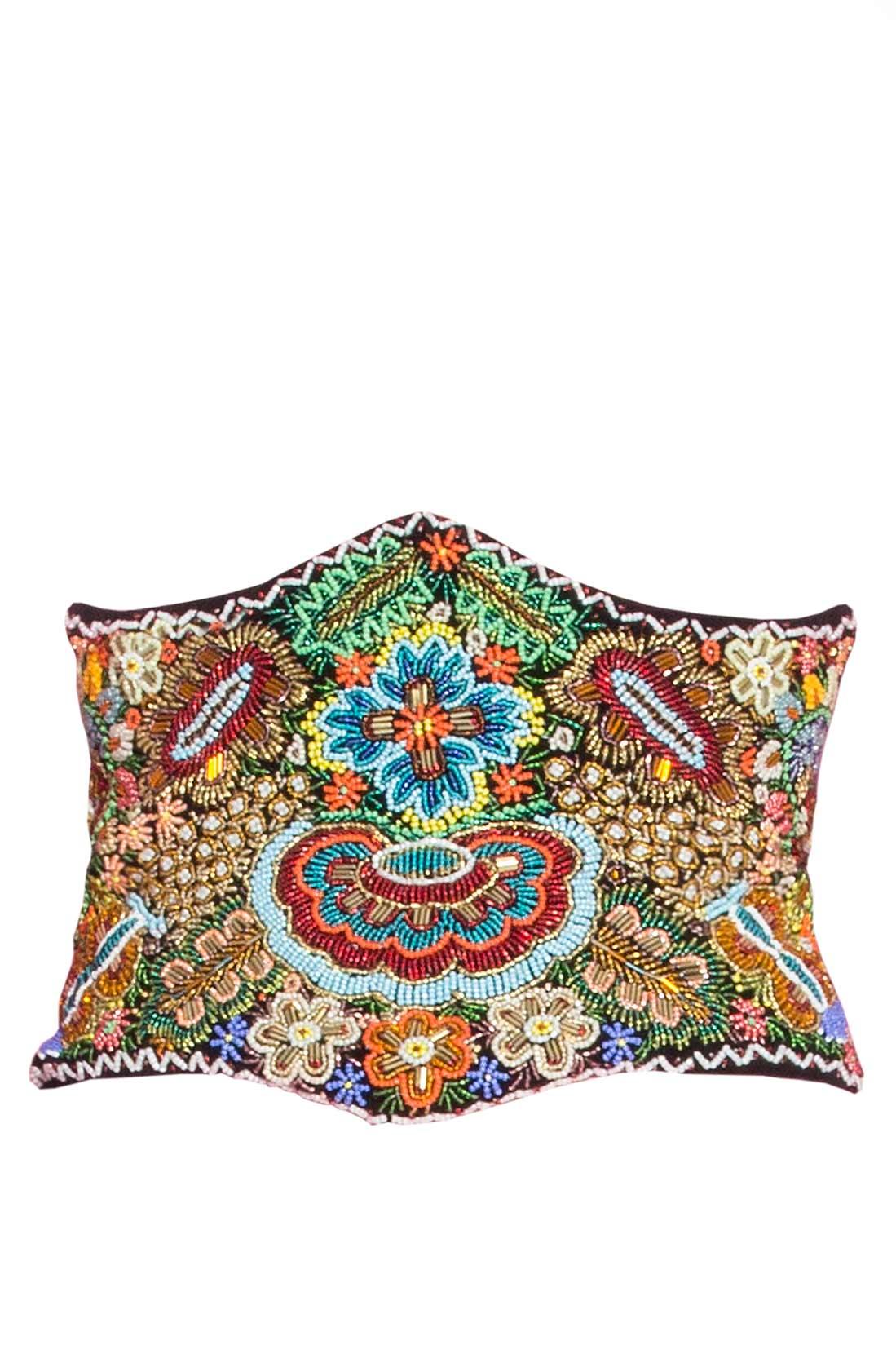 Hand embellished velvet waistband Dorin Negrau image 0