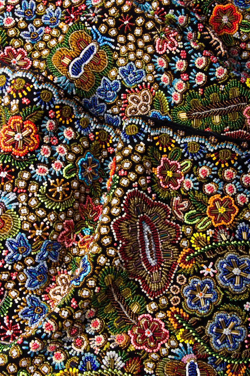 Hand embellished velvet waistband Dorin Negrau image 3