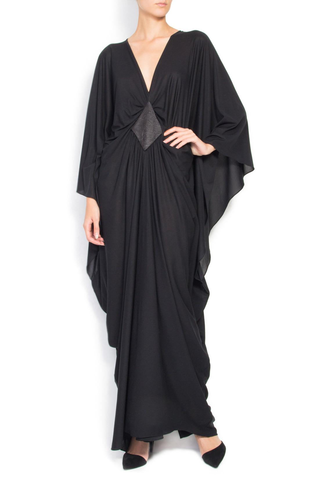 f3885da8089 Black jersey maxi dress - Maxi Dresses made to measure