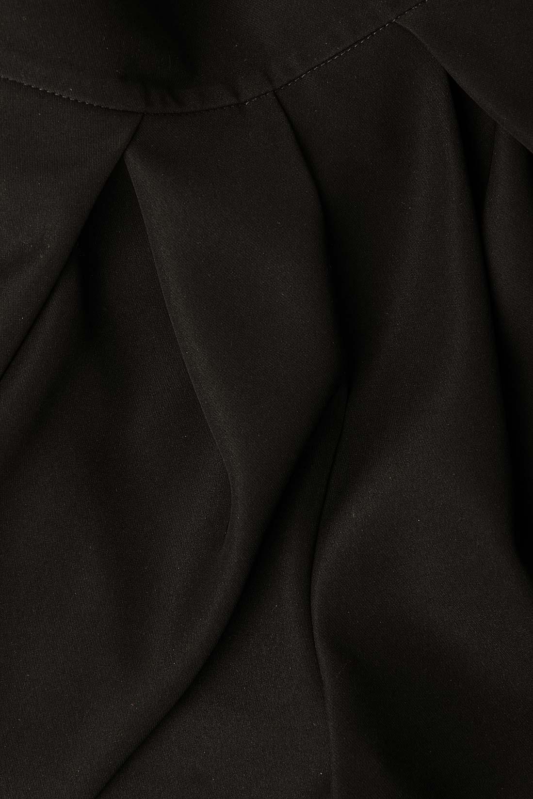 Rochie maxi din tafta Cloche imagine 3