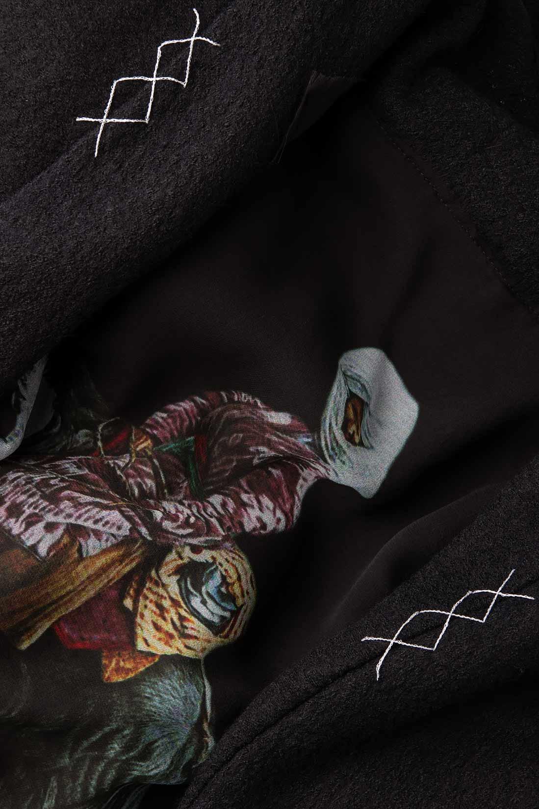 Sacou din lana si matase ''Divergent Blazer'' Studio Cabal imagine 3