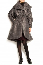 Edita Lupea Quilted-print down coat