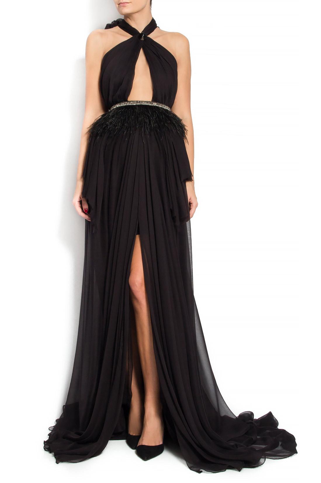 'Bianca' silk gown Manuri image 0