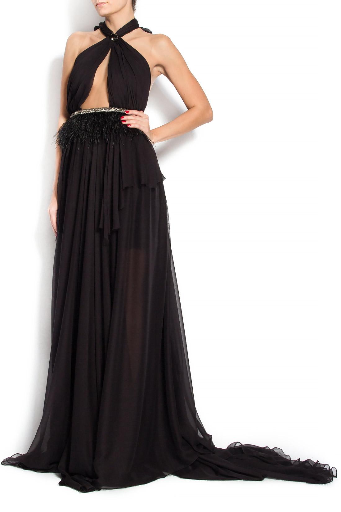 'Bianca' silk gown Manuri image 1