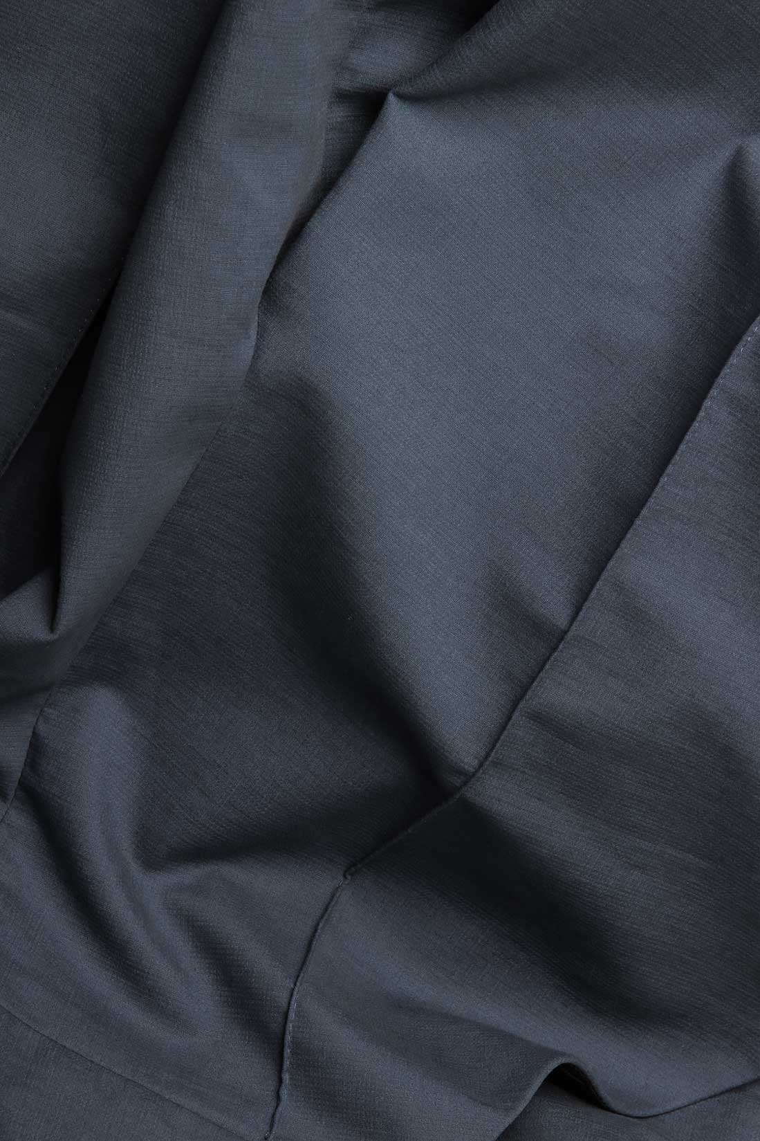 Pantaloni tip culottes din lana si bumbac Lena Criveanu imagine 3