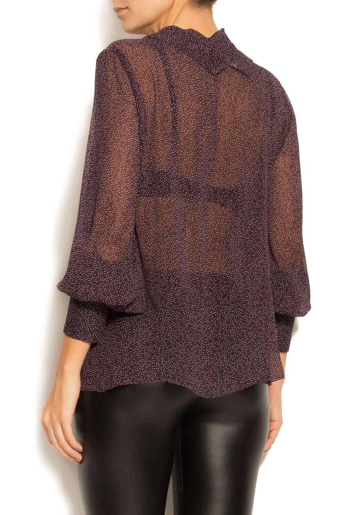 Bluza din voal cu imprimeu  Lena Criveanu imagine 2