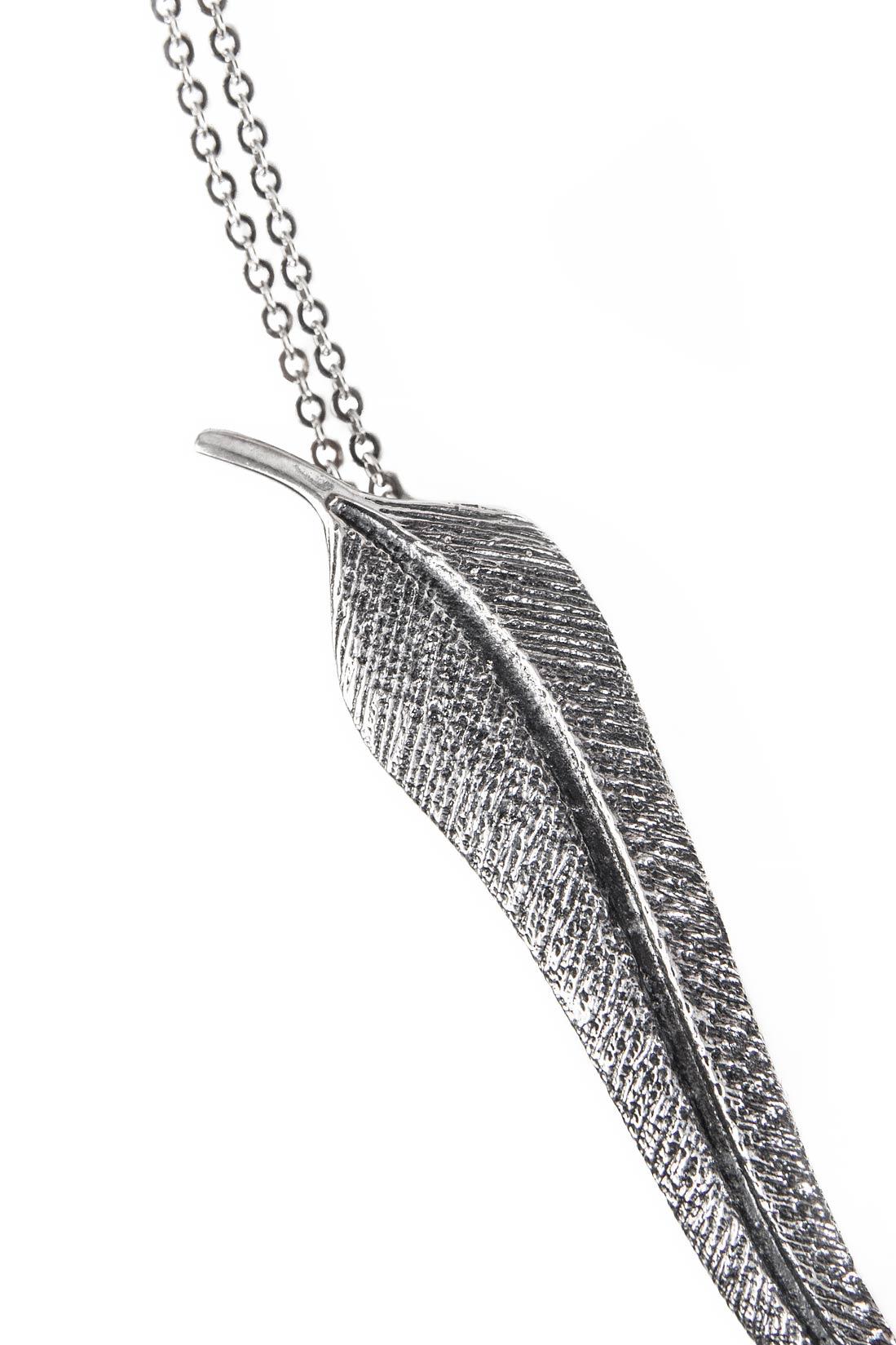 collier en argent plume en argent collier sautoirs bijoux sur mesure. Black Bedroom Furniture Sets. Home Design Ideas