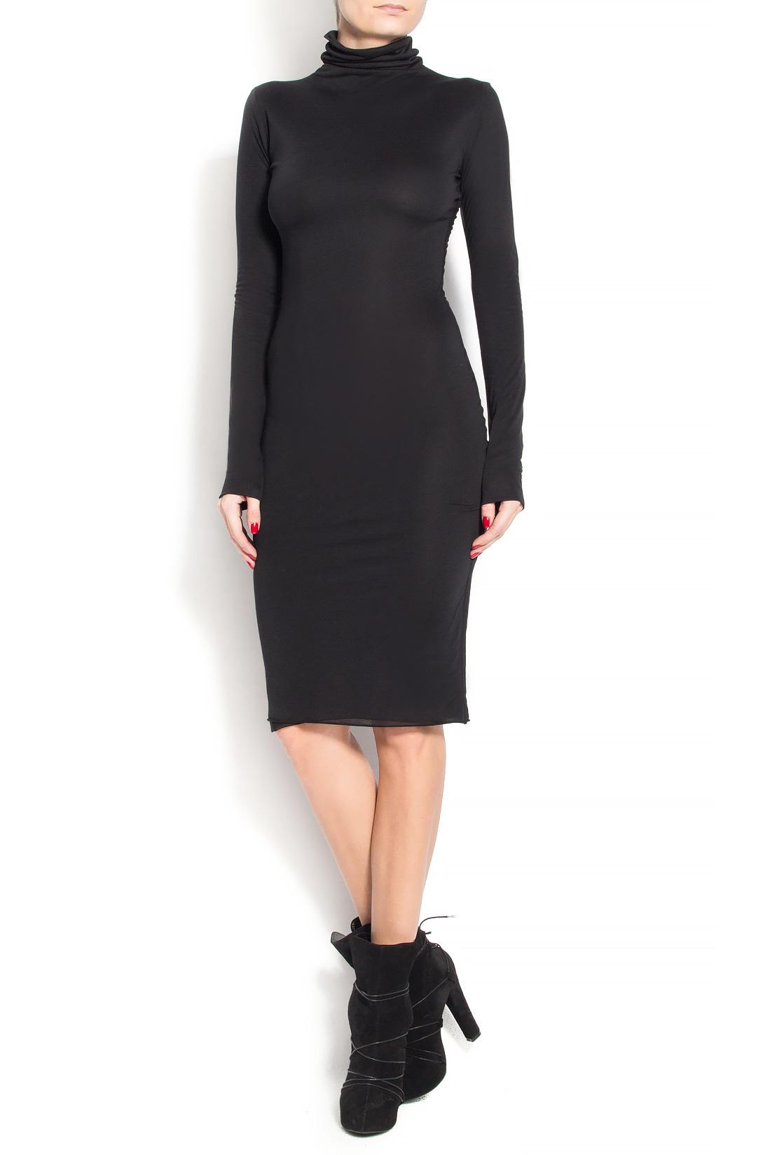 'Marianne' midi crepe dress Manuri image 0
