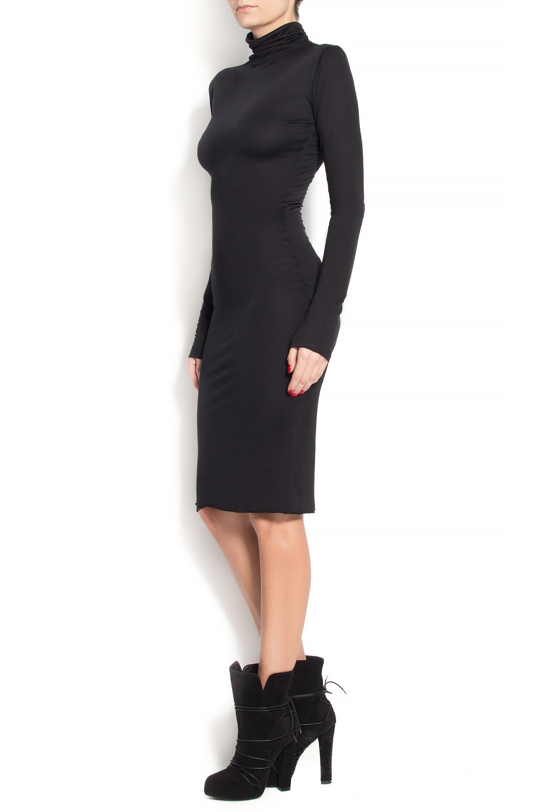 'Marianne' midi crepe dress Manuri image 1
