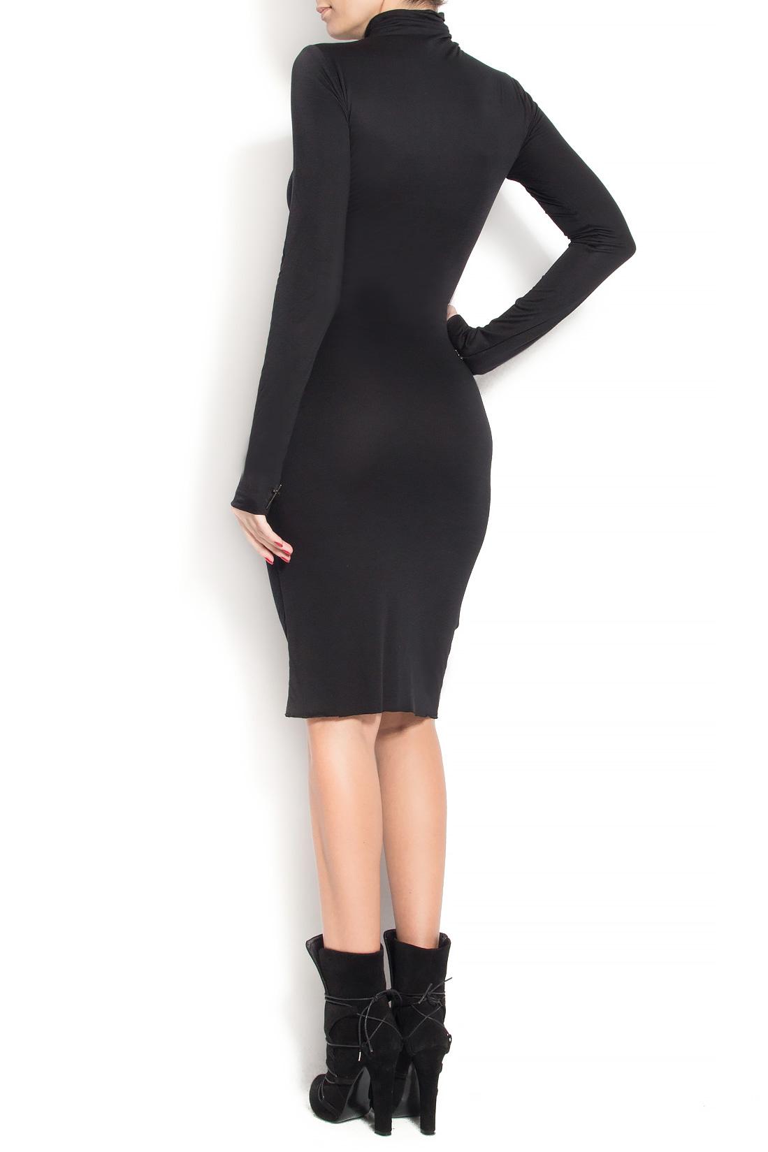 'Marianne' midi crepe dress Manuri image 2