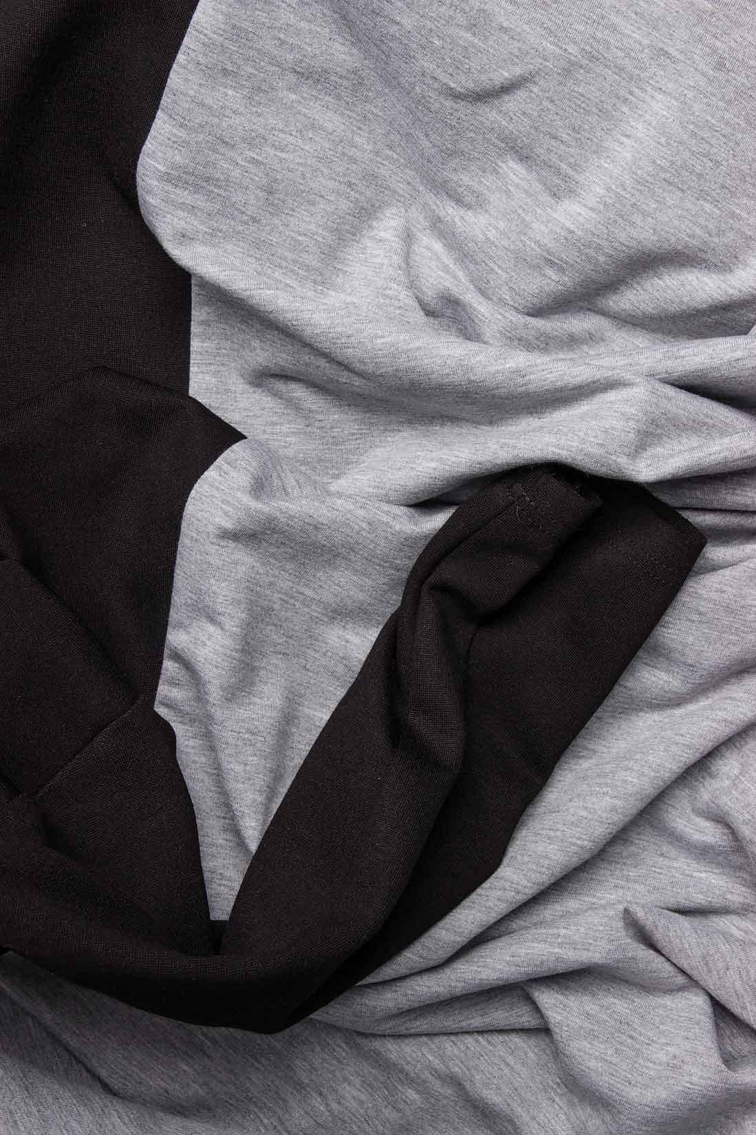 Rochie din bumbac cu maneca neagra Lena Criveanu imagine 3