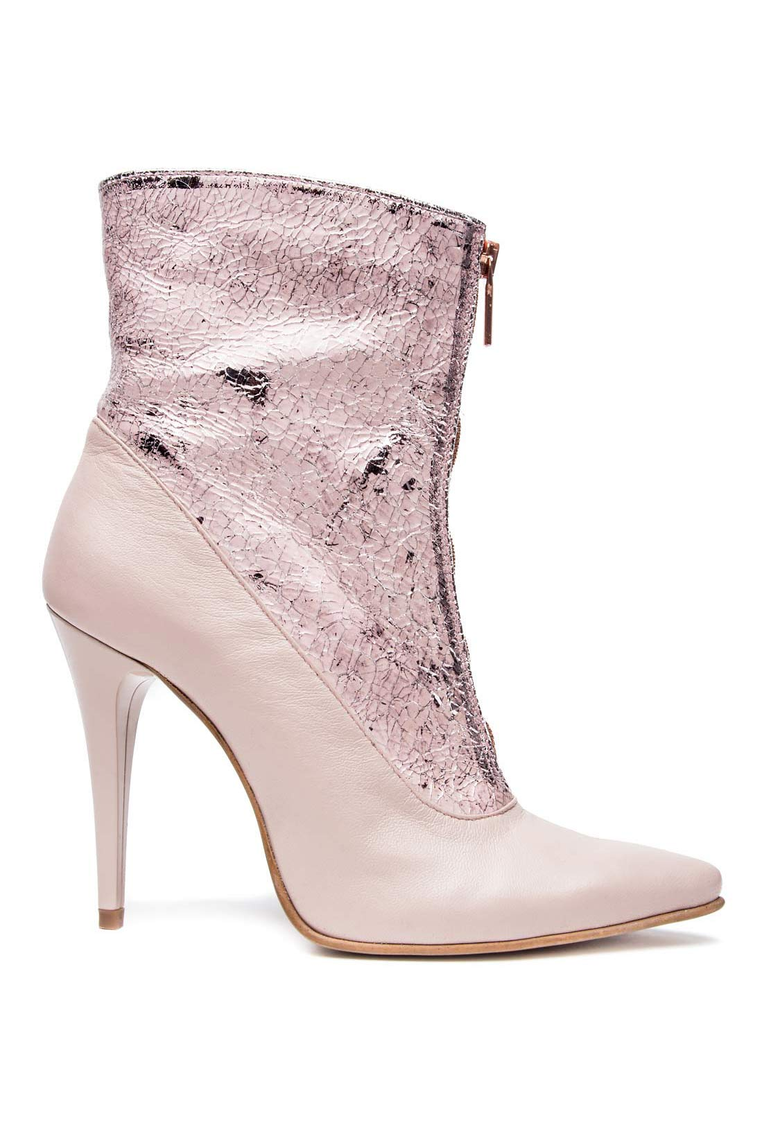 Leather ankle boots Mono Shoes by Dumitru Mihaica image 0