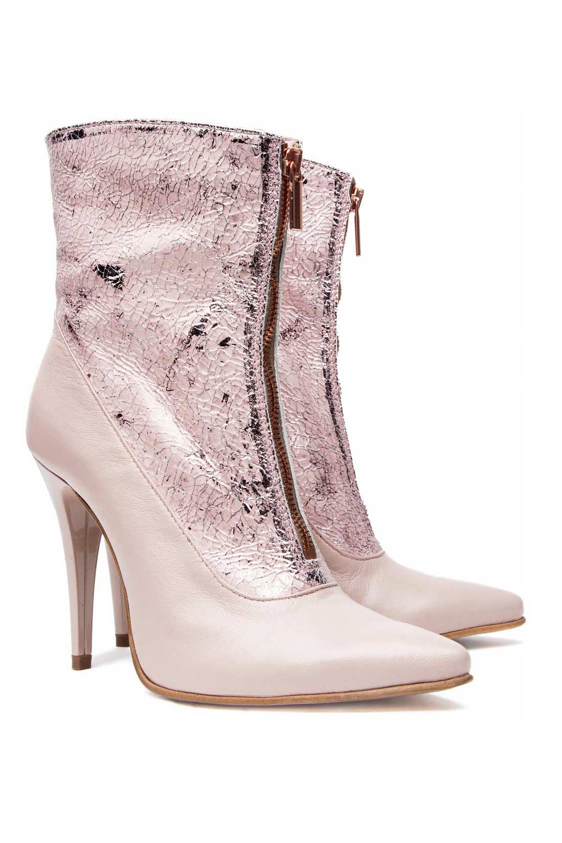 Leather ankle boots Mono Shoes by Dumitru Mihaica image 1