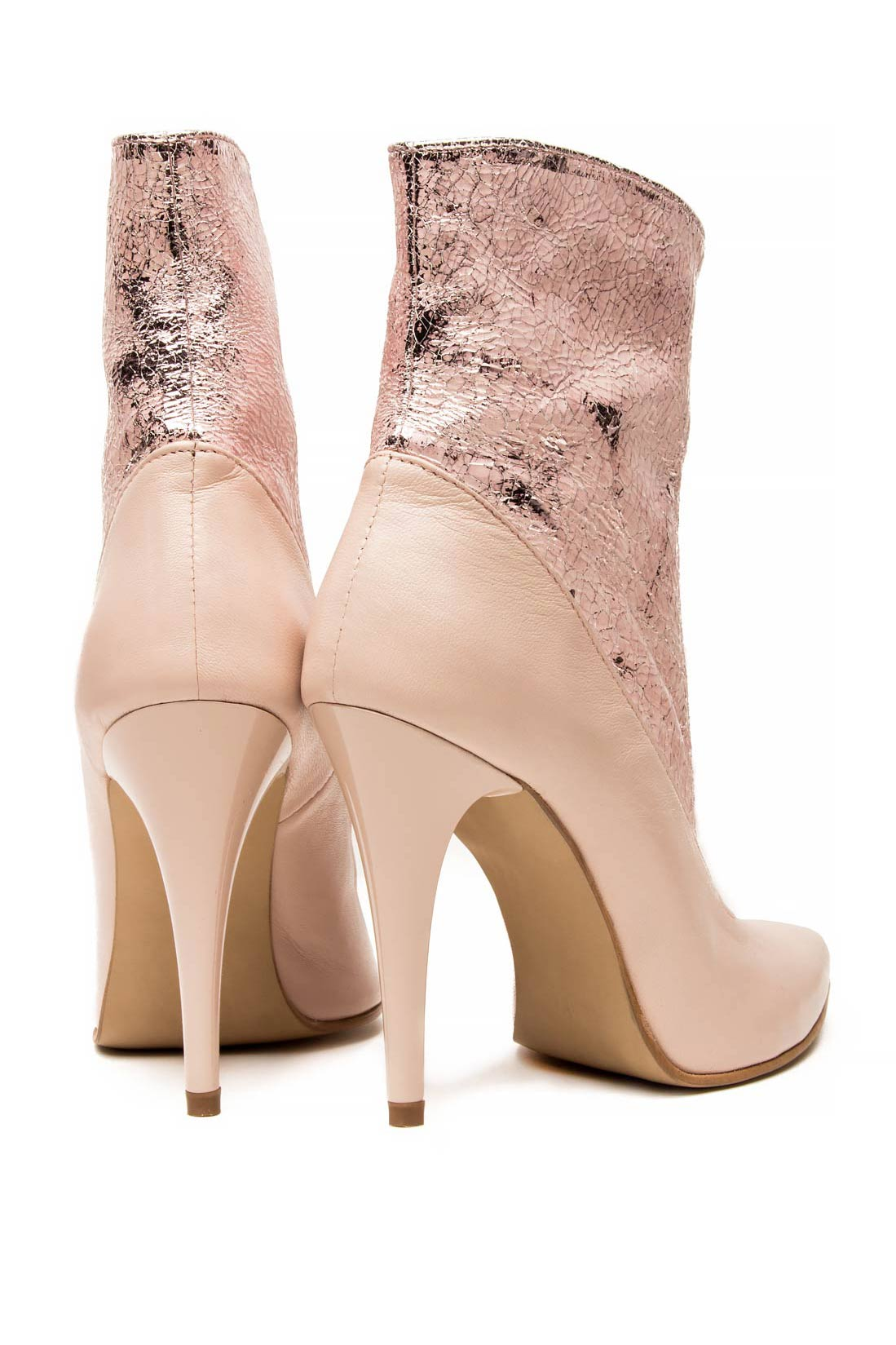 Leather ankle boots Mono Shoes by Dumitru Mihaica image 2