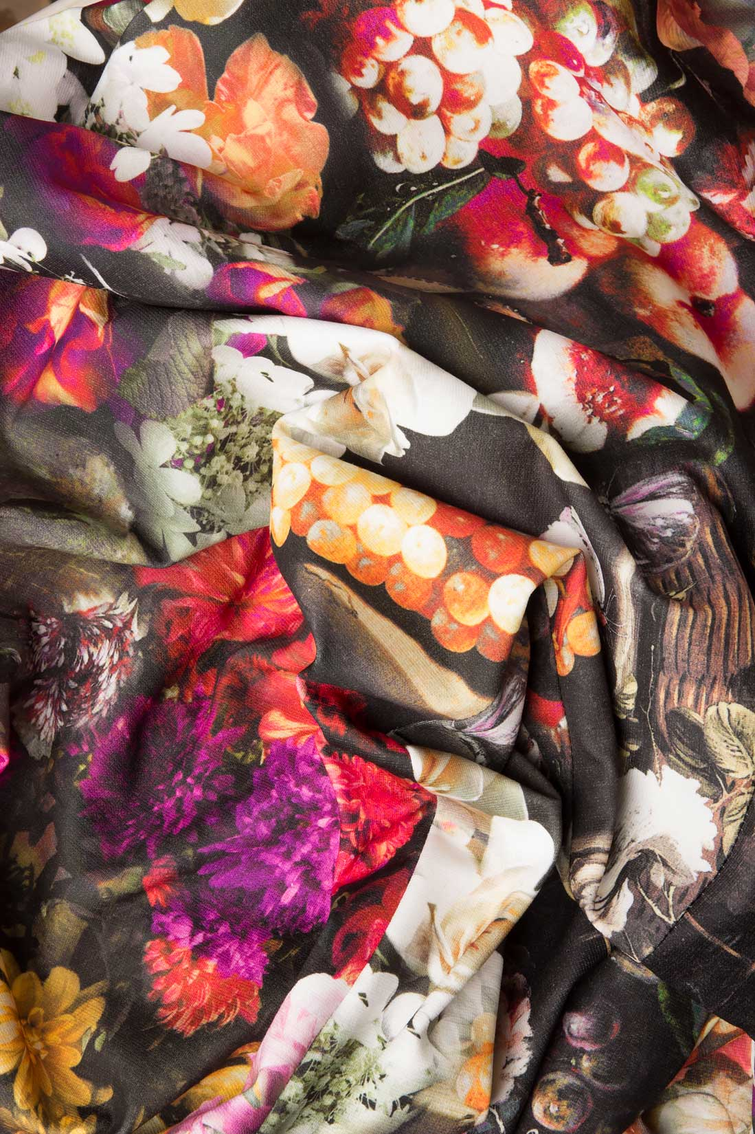 Rochie din neopren cu imprimeu floral Arina Varga imagine 3