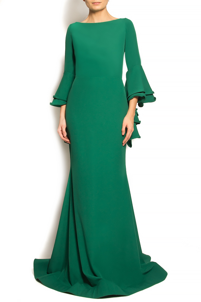 'Volume of Fashion' stretch-crepe gown Bien Savvy image 0
