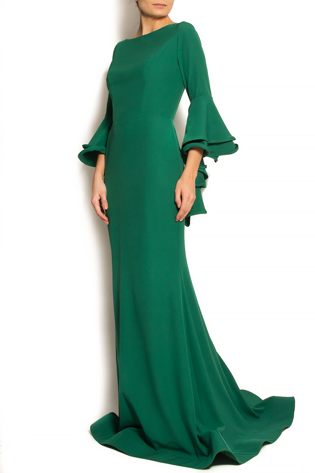 'Volume of Fashion' stretch-crepe gown Bien Savvy image 1