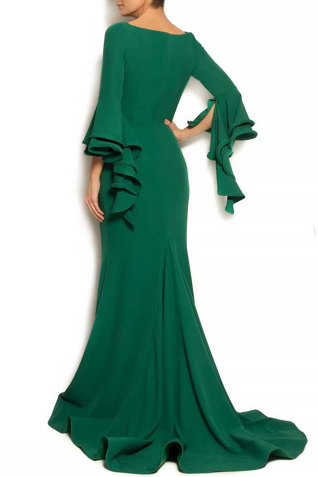 'Volume of Fashion' stretch-crepe gown Bien Savvy image 2