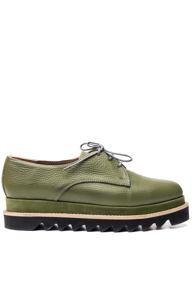 Platform leather shoes Mihaela Glavan  image 0