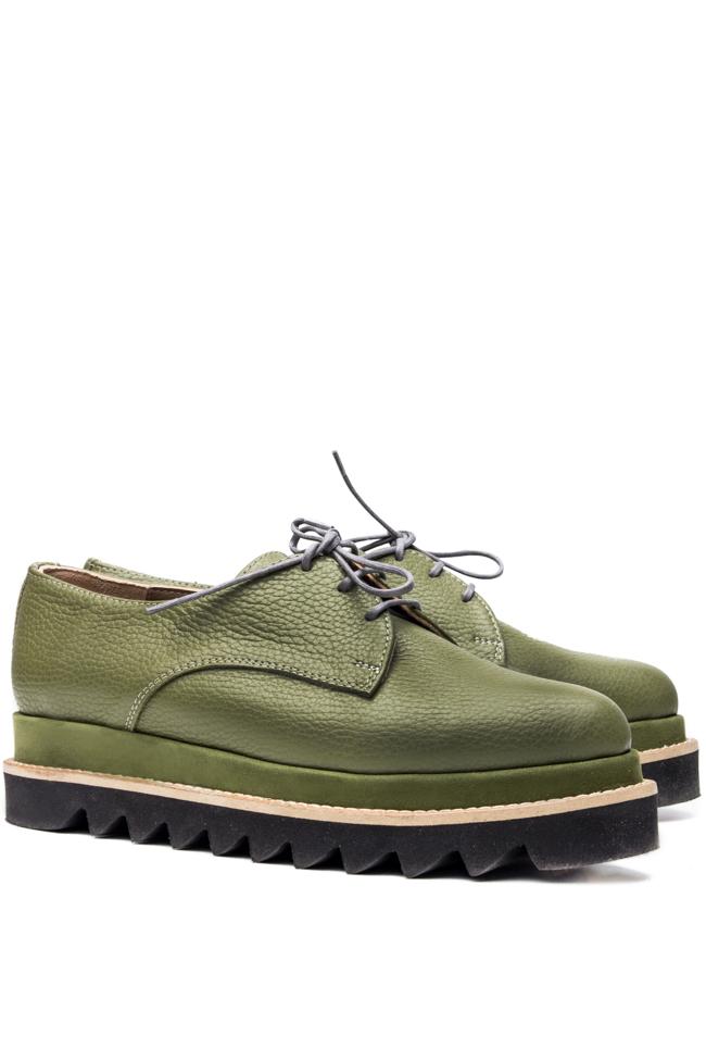 Platform leather shoes Mihaela Glavan  image 1