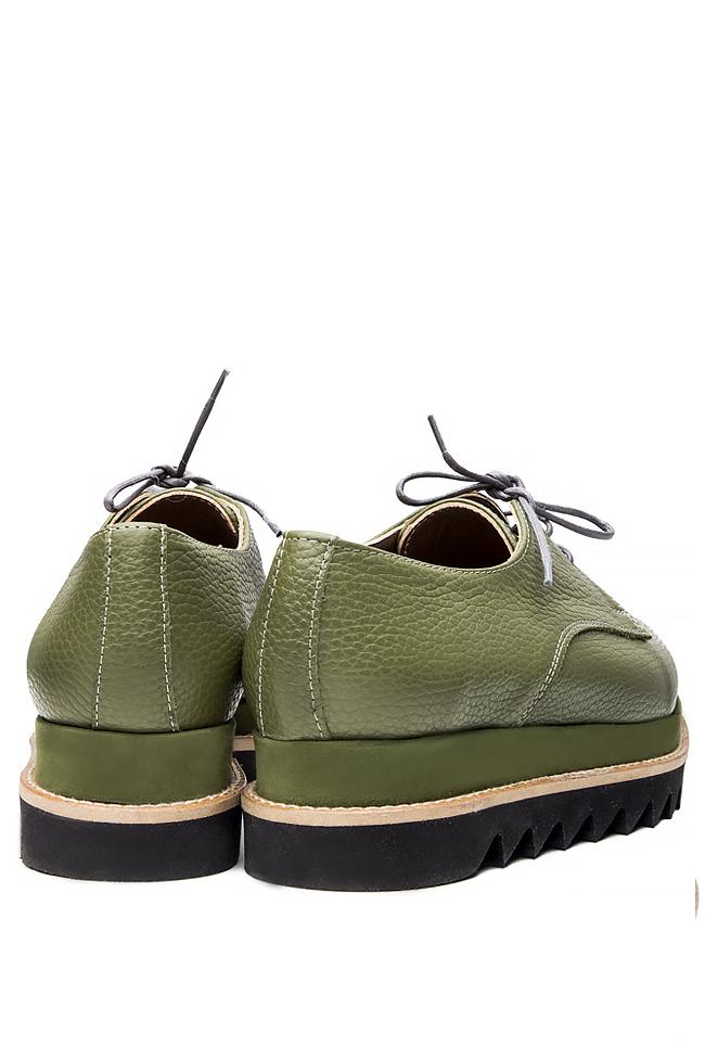 Platform leather shoes Mihaela Glavan  image 2