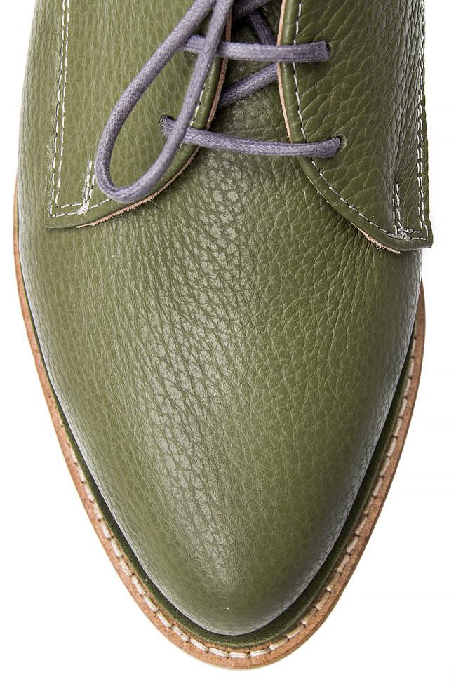 Platform leather shoes Mihaela Glavan  image 3