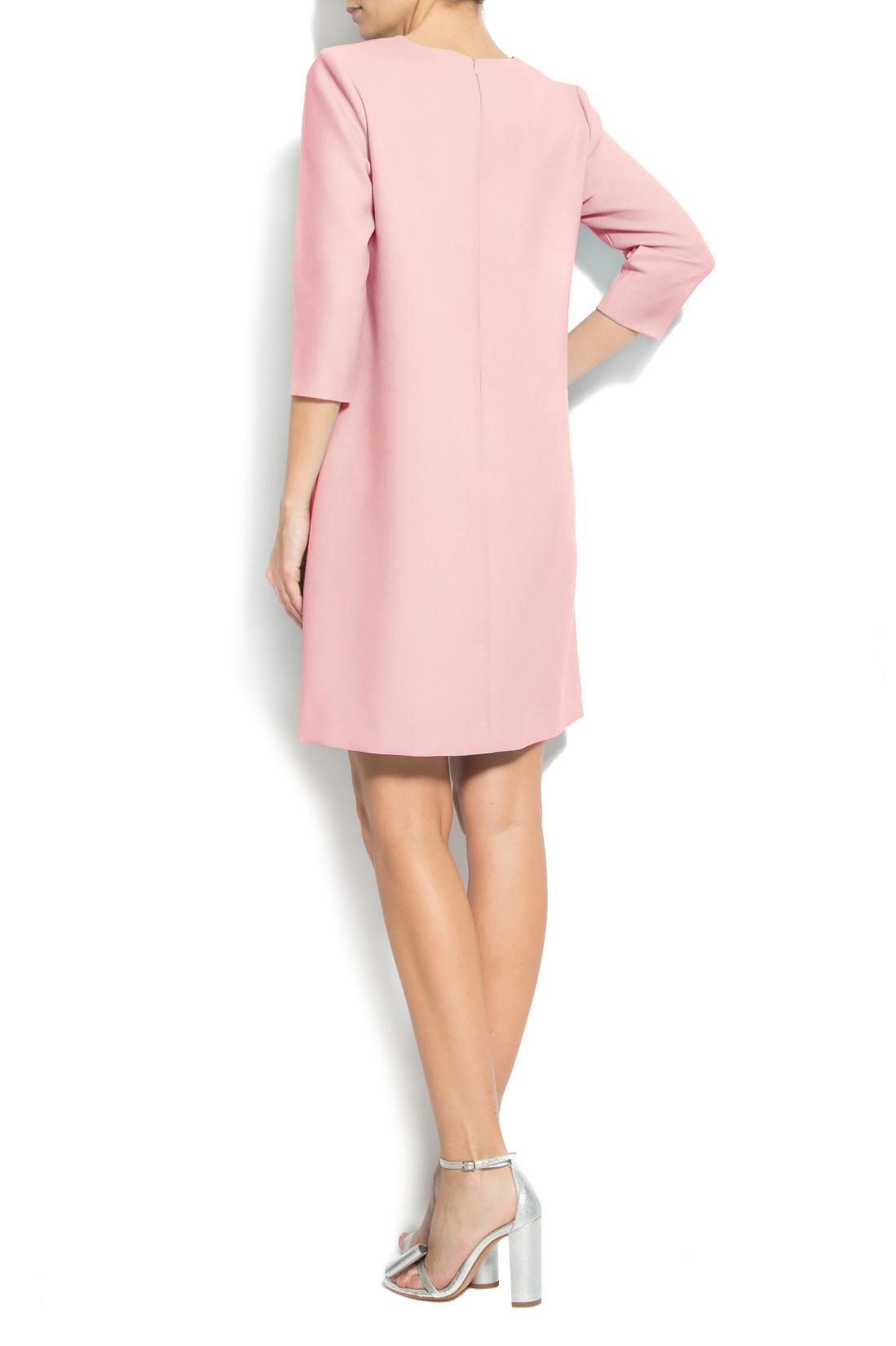 Crepe mini dress Claudia Castrase image 2