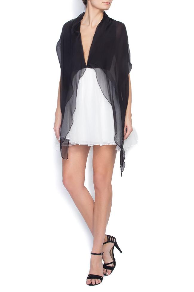 RAFFI open-back silk mini dress Manuri image 0