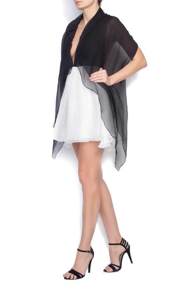 RAFFI open-back silk mini dress Manuri image 1