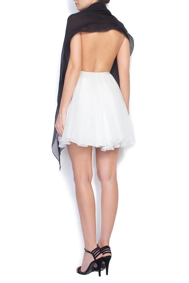 RAFFI open-back silk mini dress Manuri image 2