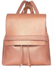 Sophie Handbags by Andra Paduraru Rucsac din piele naturala metalizata