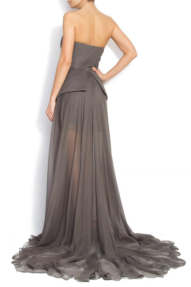 GRETA embellished silk gown Manuri image 2