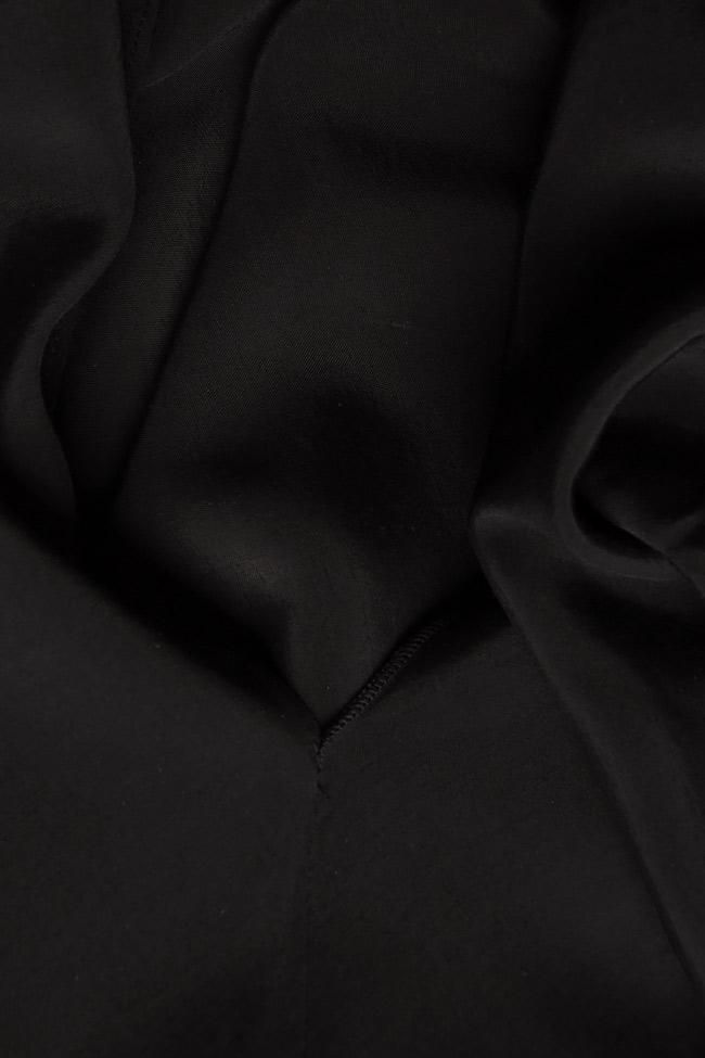 Bluza din crep cu spatele decupat Lena Criveanu imagine 3