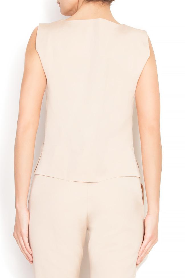 Bluza din bumbac Lena Criveanu imagine 3