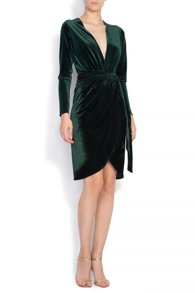 Velvet wrap skirt Atelier Jaisse image 0