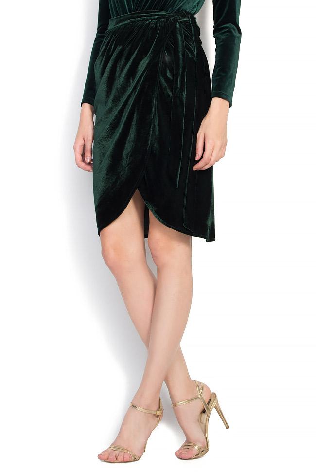 Velvet wrap skirt Atelier Jaisse image 1