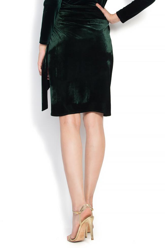 Velvet wrap skirt Atelier Jaisse image 2